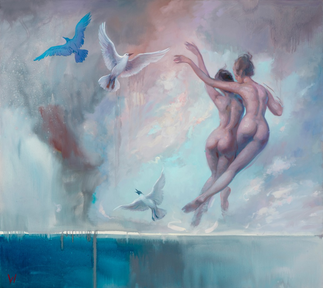Patricia-Watwood_Ascending_2019_oil-on-linen_54x48