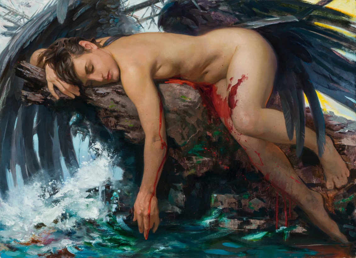 Patricia-Watwood_Icarus_oil-on-linen_26x36_2019