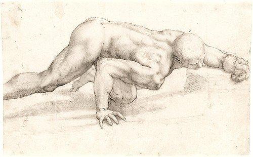 agnolo-bronzino-crawling-male-nude
