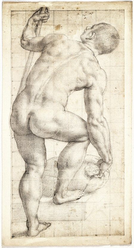 agnolo-bronzino-standing-male-nude-with-back-turned