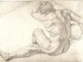 agnolo-bronzino-seated-male-nude
