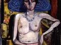 Alice-Neel-Rhoda-Meyers-with-Blue-Hat-1930