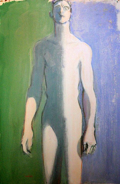 Half Lit Nude