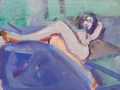 Reclining Nude, Legs Crossed