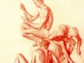 Claudio-Bravo-Red-Chalk