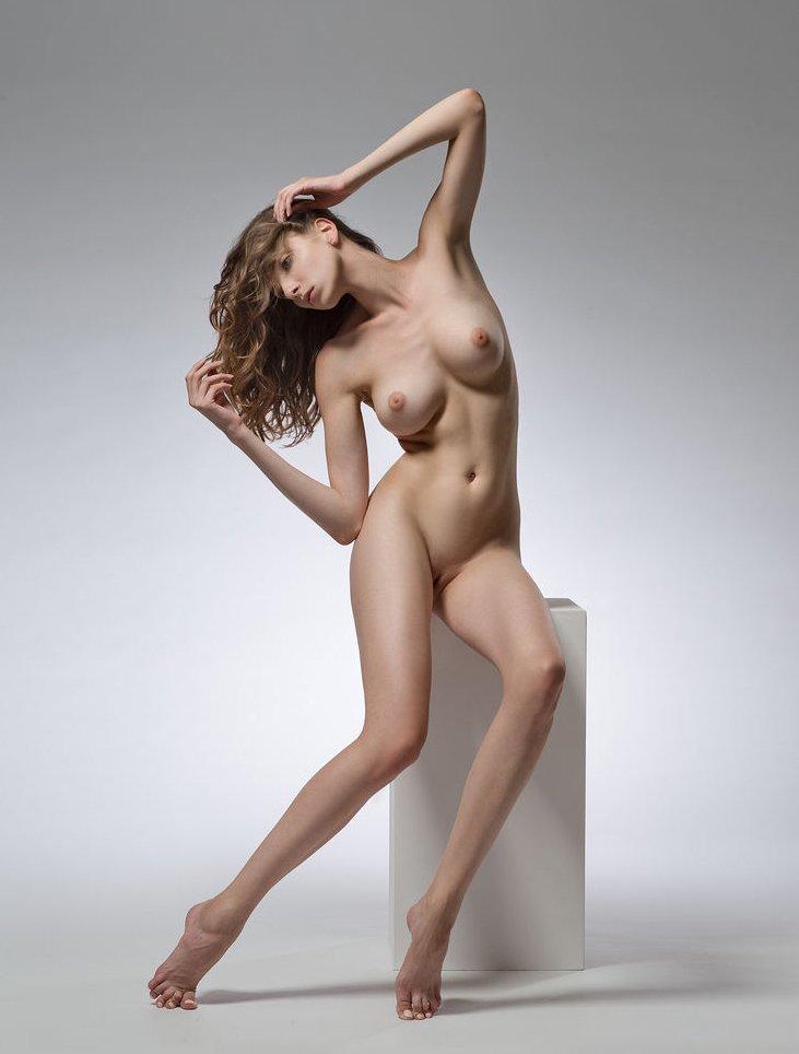 Life Model Long, Lean Female  Promoting Figurative -6836