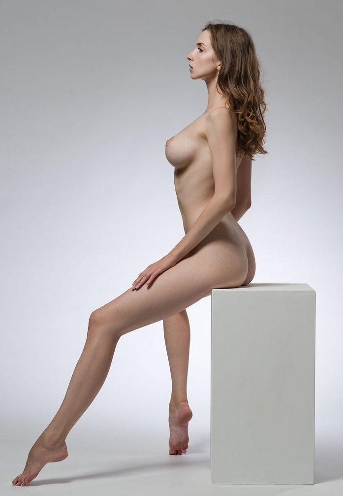 Life Model Long, Lean Female  Promoting Figurative -2626