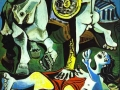pablo-picasso-rape-of-the-sabine-women-1962