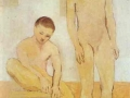 pablo-picasso-two-youths-1905